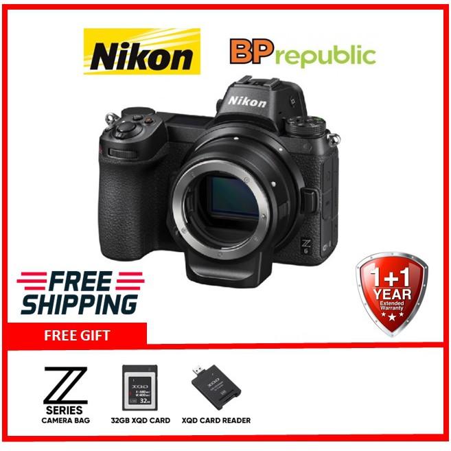 Nikon Z6 With FTZ Mount Adapter Kit Mirrorless Digital Camera