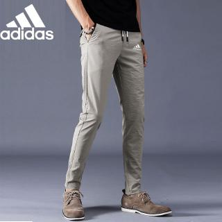 SSLR Mens Elastic Waist Ripstop Fabric Regular Fit Casual Jogger Pants
