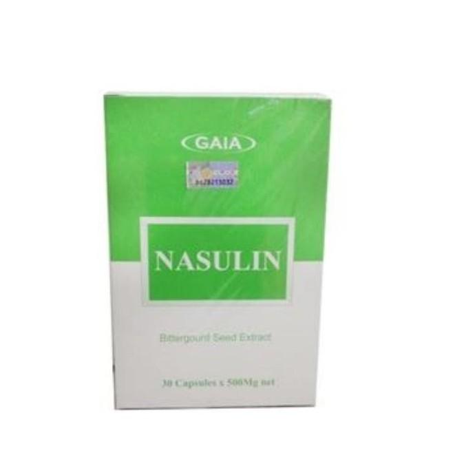Nasulin Bittergourd Seed Extract 30\'s x 500mg (Diabetes / Kencing Manis)