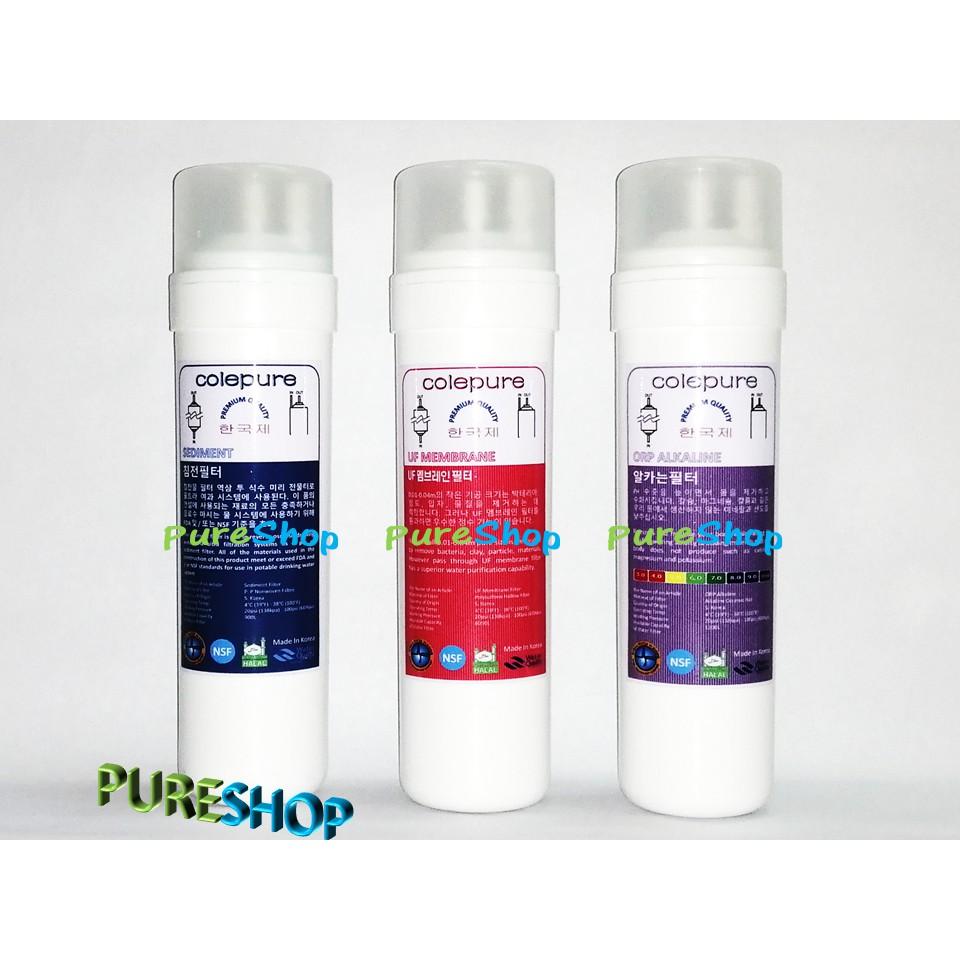 Korea Water Filter Alkaline UF Membrane Halal NSF Filter Cartridge 3 Purest Purifier Dispenser 4UE4 Fitting RO Tubing
