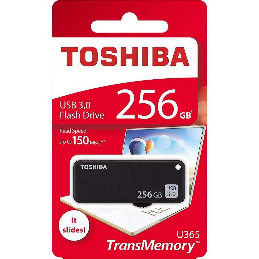 Toshiba TransMemory Yamabiko U365 256GB USB 3.0 Flash Drive USB Read 150MB/s