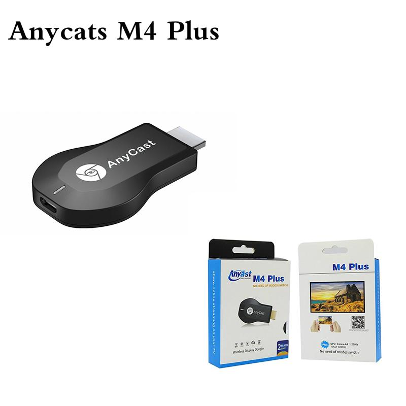 【READY STOCK】 Anycast M4 Plus Wireless Display Dongle 1080P HD