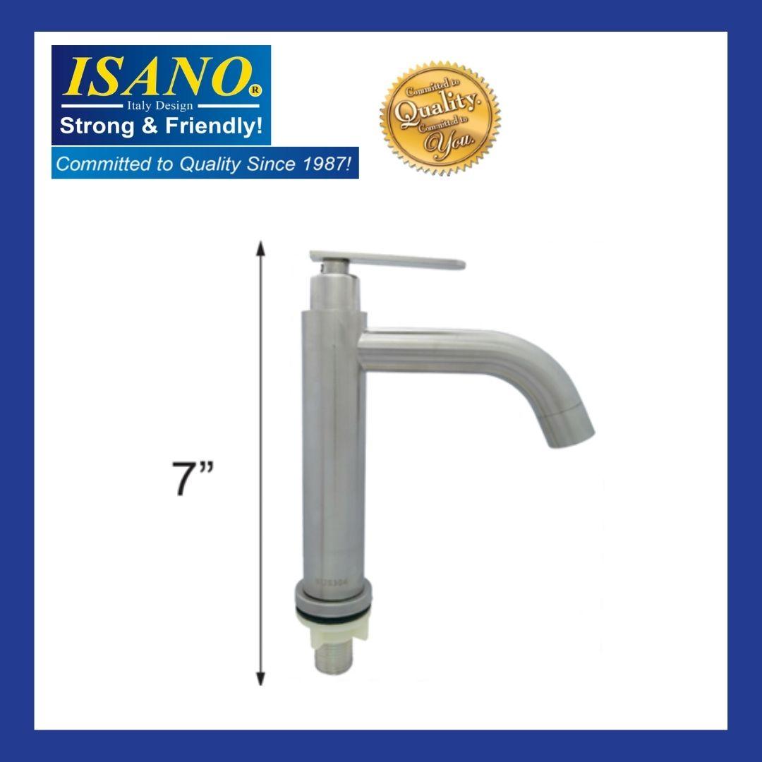 ISANO SUS304 Stainless Steel Pillar Water Tap - 1000PT