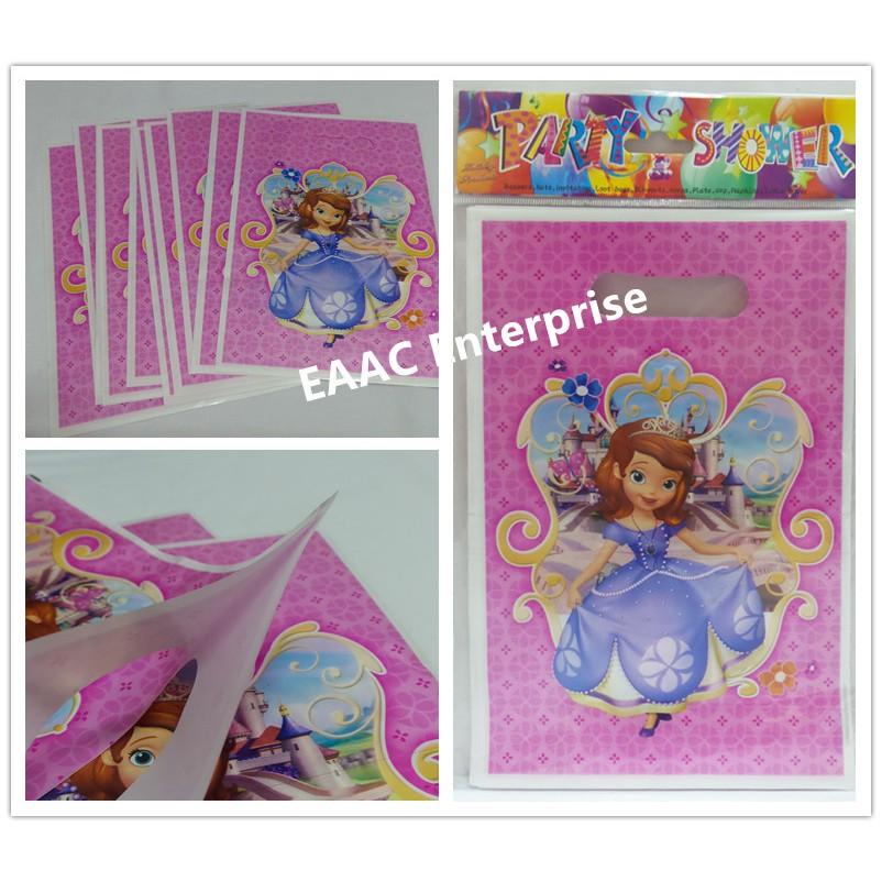 Various design of Children Party Happy Birthday Loot/Goody Bag S(10pcs)