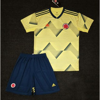 finest selection 1e99d 78ae3 Thailand quality 2019-2020 Colombia national team home and ...