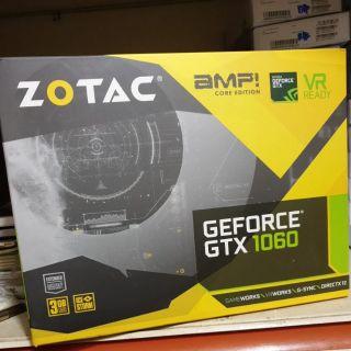 New !!! Ready Stock -- New Zotac Geforce GTX 1060 3GB AMP