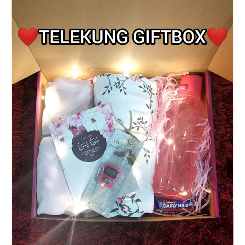 ❤️GIFTBOX❤️ TELEKUNG FLORAL WITH CHOCOLATE