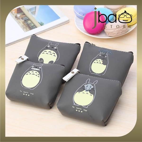 Totoro PU Cartoon Coin Purse Mini Storage Bag Earphone Pouch