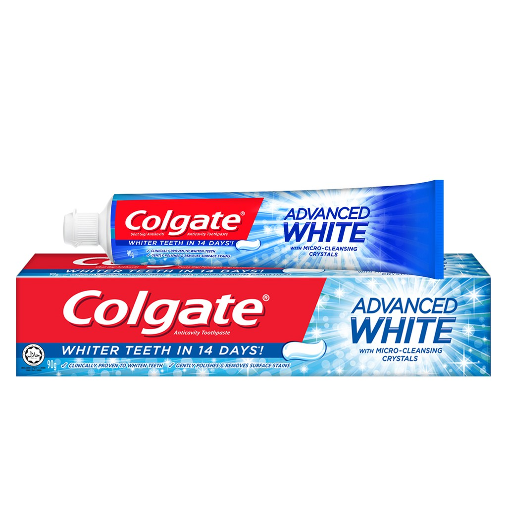 Colgate Advance Whitening Toothpaste (90g)