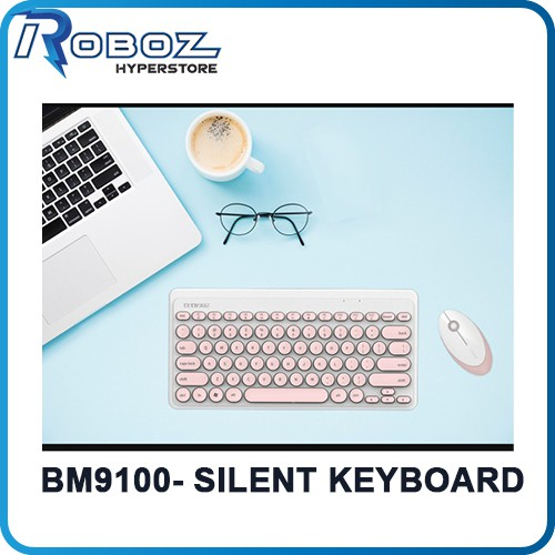 Silent keyboard combo set BM9100 Suitable for office use and gaming