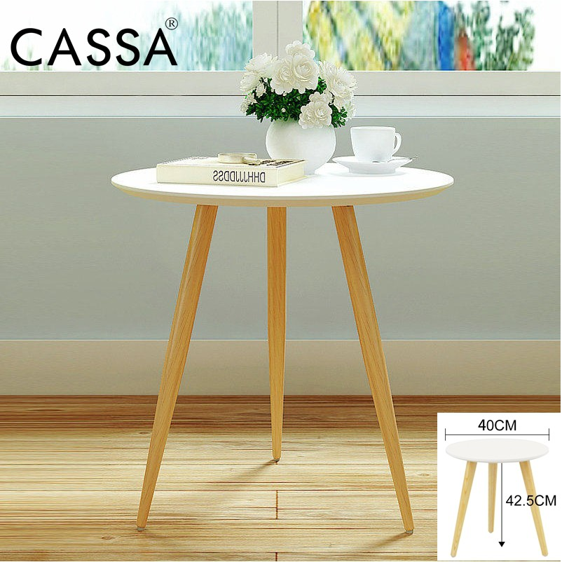 Stupendous Cassa Concepts Oslo Round End Square Table Side Table White Purplish Alphanode Cool Chair Designs And Ideas Alphanodeonline