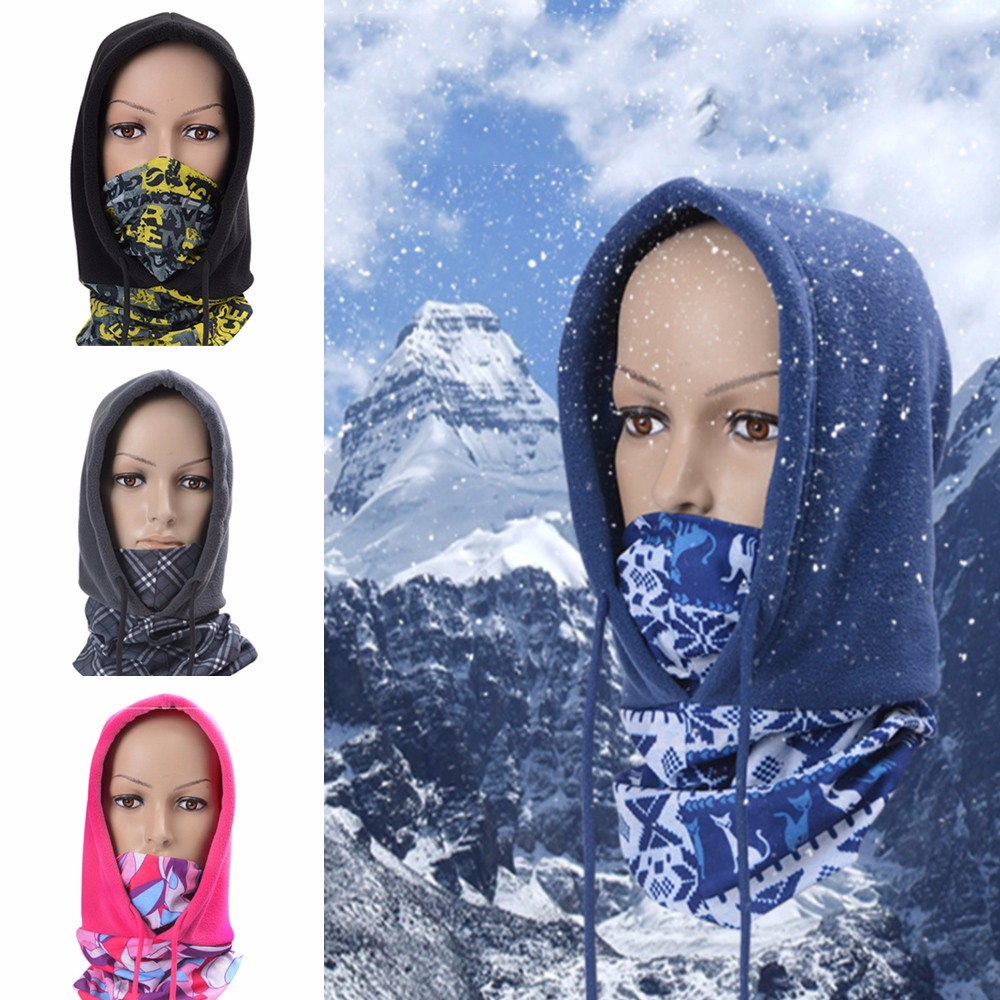Ski Balaclava Full Face Mask Motorcycle Under Helmet Snood Neck Warm Windproof | Shopee Malaysia