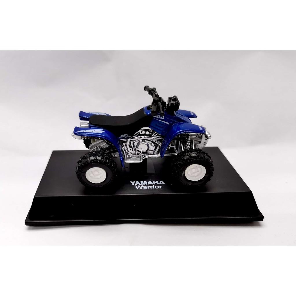 NEWRAY 1:32 METAL DIE CAST YAMAHA WARRIOR SPORT ATV (BLUE) MODEL COLLECTION 06007B