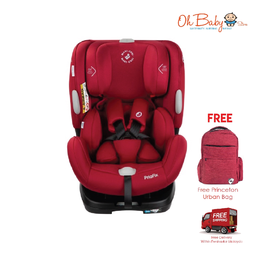 Infant and child car safety seat priafix 0-7 years old newborn car