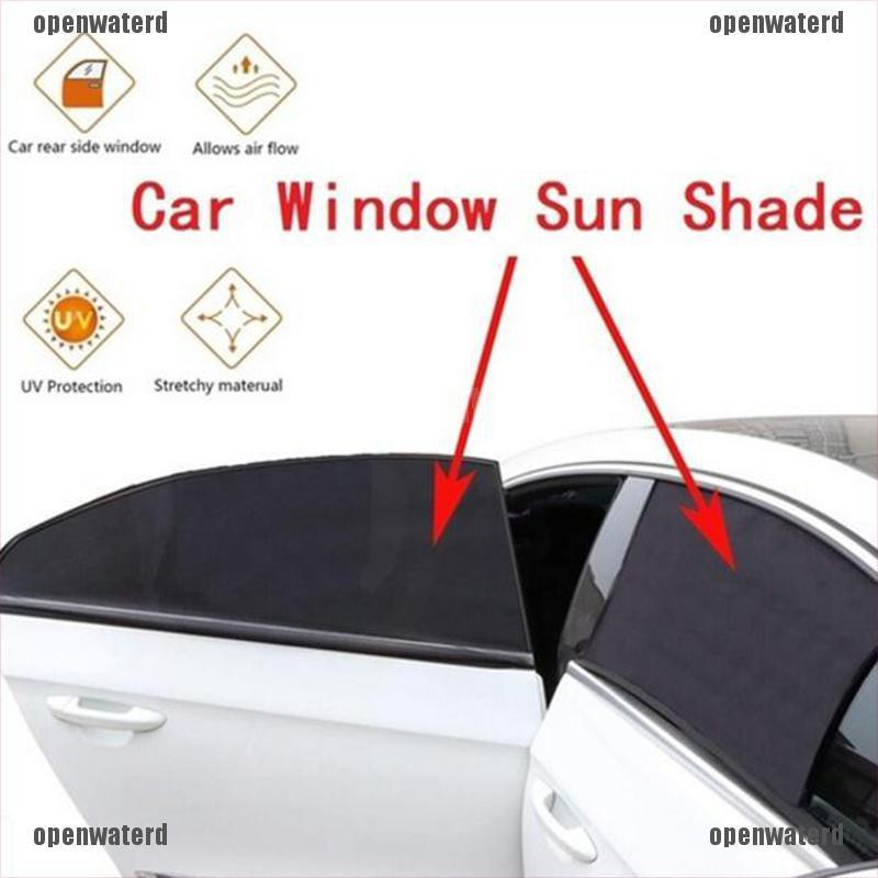 2 Pack Sun Shade Window Screen Cover Sunshade Protector For Car Truck  ·