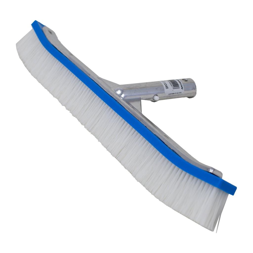 "Pool Brush Head Strong 18/"" Aluminium Heavy Duty Swimming Pool Cleaning Brush"