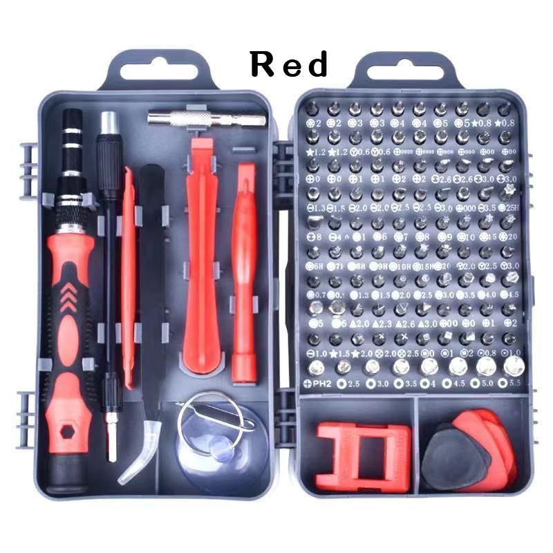 GDeal 115 In 1 Watch Mobile Phone Disassembly Tool box Vanadium Steel Multifunctional Screwdriver Set Hardware Tools