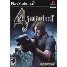 PS2  Resident Evil 4 / Resident Evil Code:Veronica X / OutBreak / DeadAim / Survivor 2 [Burning Disk]