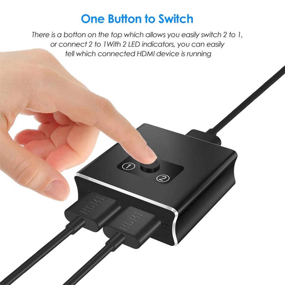 Selector Switch Boxes Accessories & Supplies HDMI Switch Splitter ...