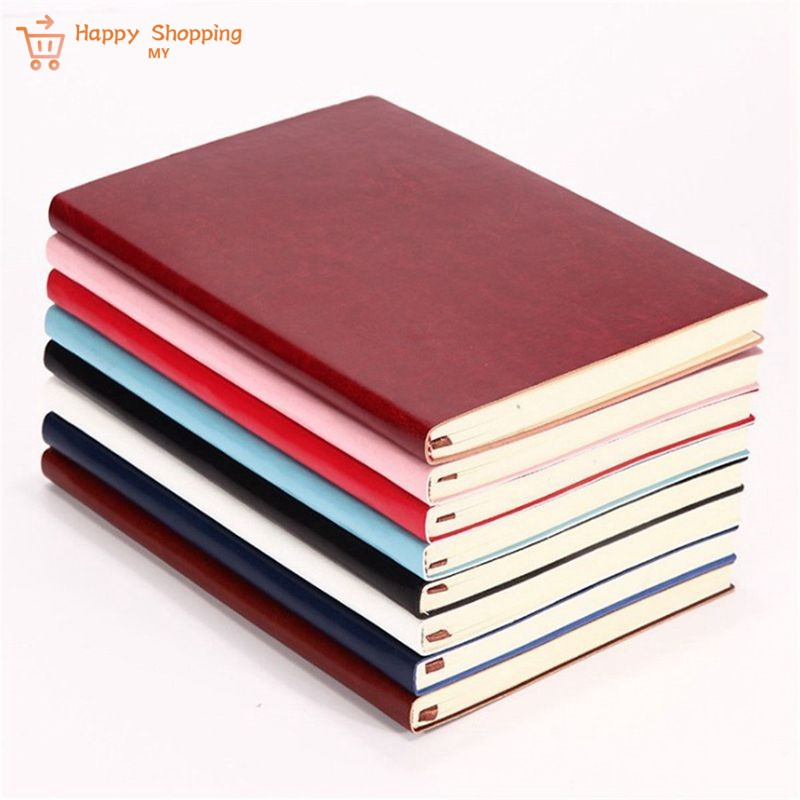 2e45d9dd3310 MY Shopping 6 Color Random Soft Cover PU Leather Notebook Writd Diary Book