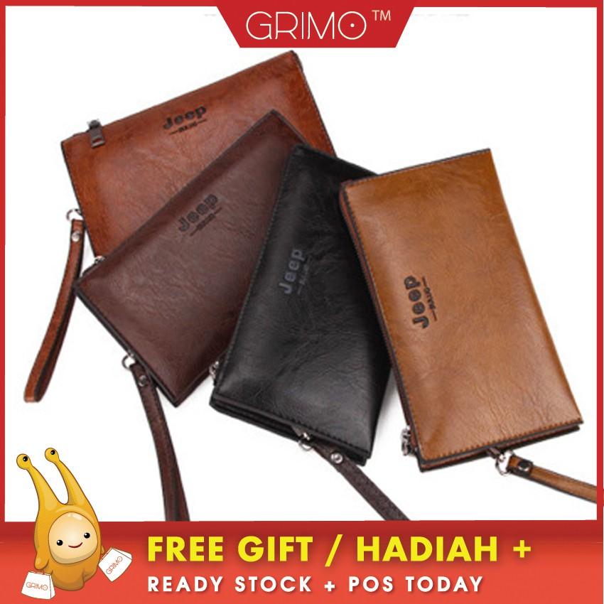 READY STOCK 4GL Baellerry Arrow 1001 Men Big Capacity Long Wallet Bag Dompet   830b0759f9
