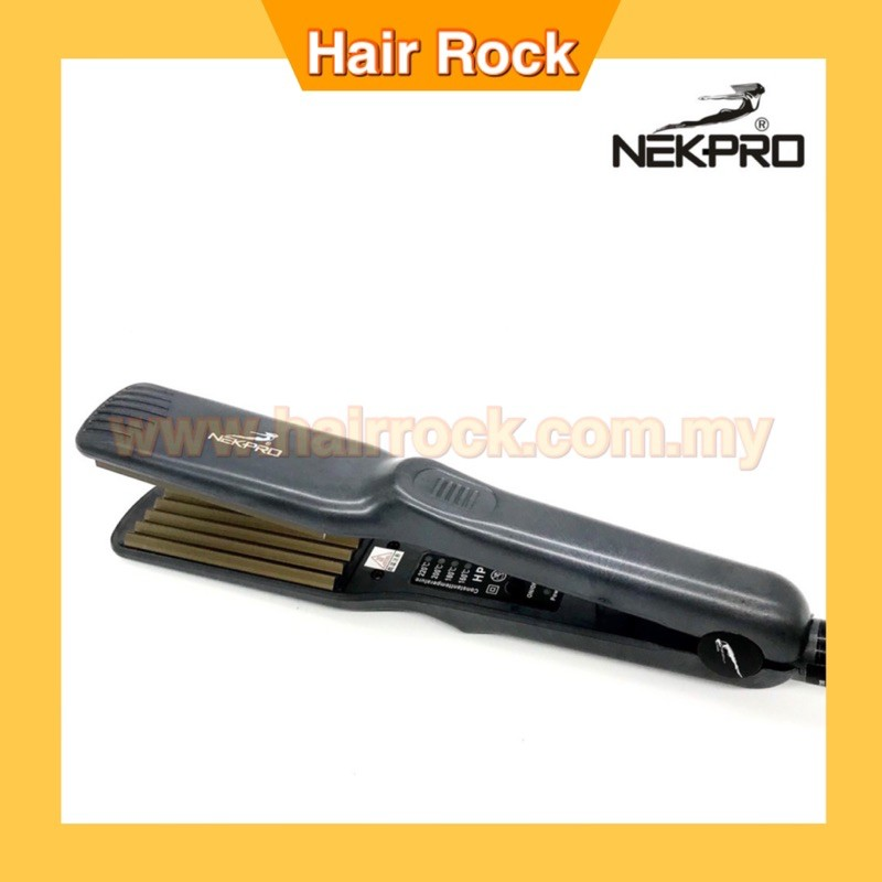 NEKPro Ceramic Hair Crimper Hair Iron Hair Volumizing Machine