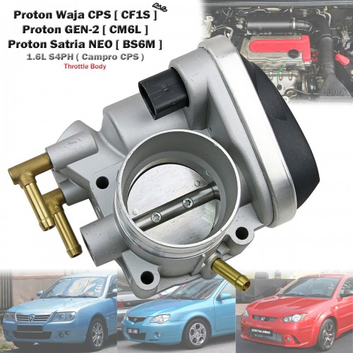 Replacement Throttle Body For Proton Waja CPS GEN-2 1 6L S4PH CamPro  PW811655