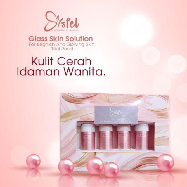 Sysfel Glass Skin Solution 💯 Original HQ