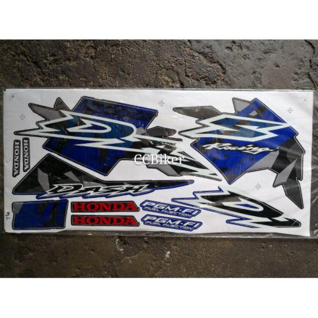 Honda WAVE DASH S Body Sticker