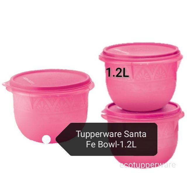 Tupperware Santa Fe Bowl -1.2L (1pcs/3pcs)