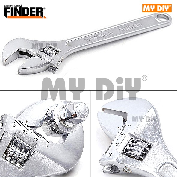 10/'/' 250MM HIGH QUALITY SPANNER MULTI USE ADJUSTABLE WRENCH DIY TOOL