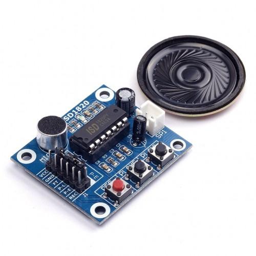 ISD1820 Recording Module Voice with Mic sound sensor speaker for arduino
