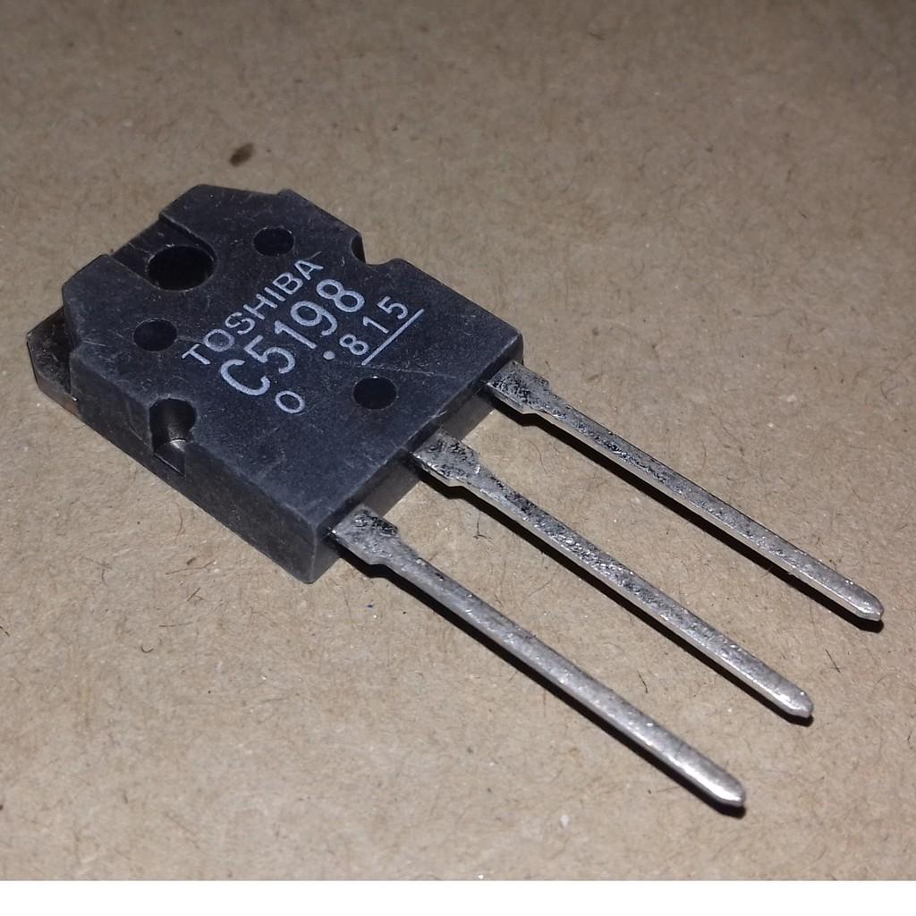 Power Amplifier Transistor Toshiba C5198 140V 10A