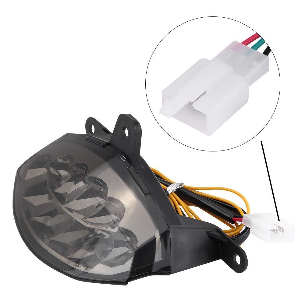 Integrated LED Brake Stop Warning Tail Light+Turn Signals Light For KTM Duke 125