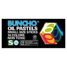 Buncho Oil Pastels 16 Colour
