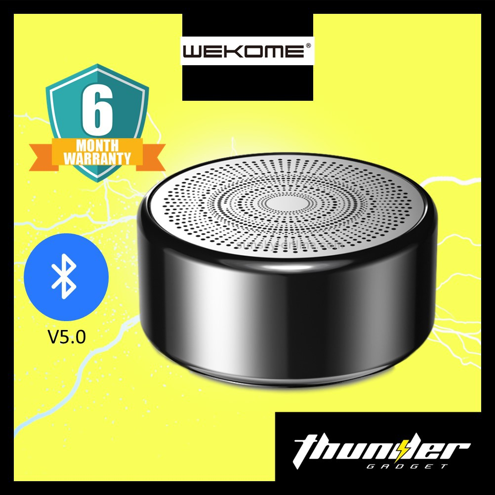 WEKOME D16 WATERPROOF TRUE WIRELESS SPEAKER BLUETOOTH 5.0 SPEAKERS PORTABLE SPEAKER