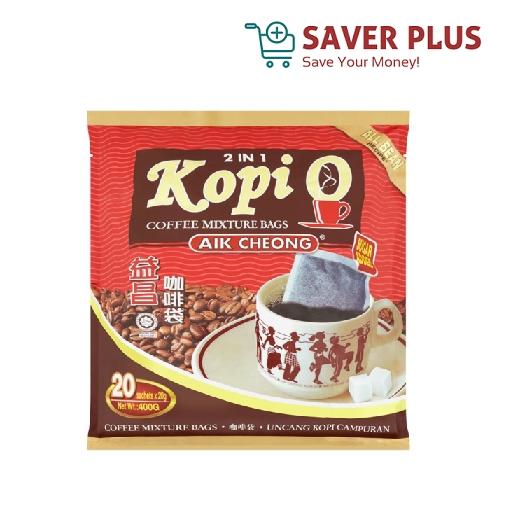 Aik Cheong Kopi O 2in1 20 sachets x 20g