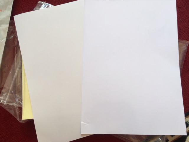 A4 GLOSSY PHOTO PAPER STICKER GLOSSY STICKER MIRRORKOTE STICKER INKJET &  LASER