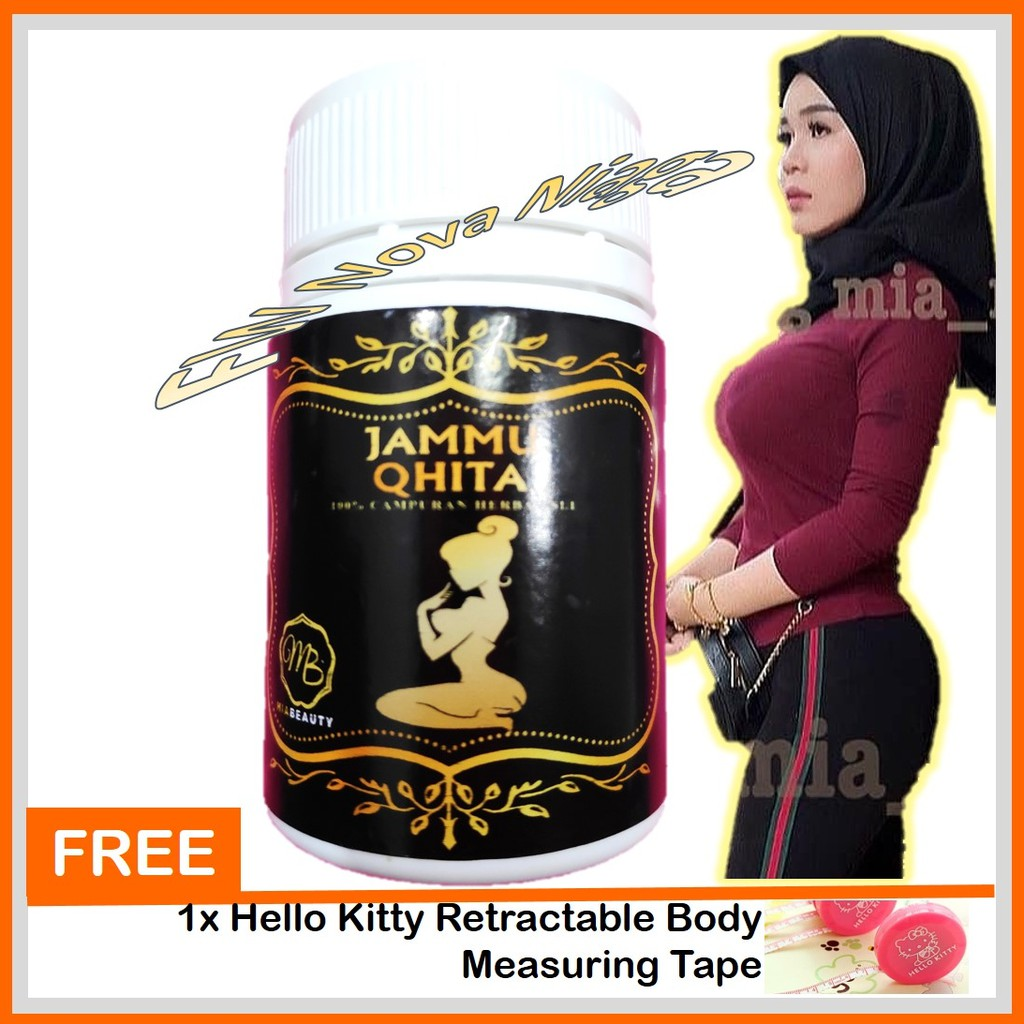 ORIGINAL HQ Jamu Qhita | Jammu Qhita (30 kapsul) ~ Payudara up + Freegift