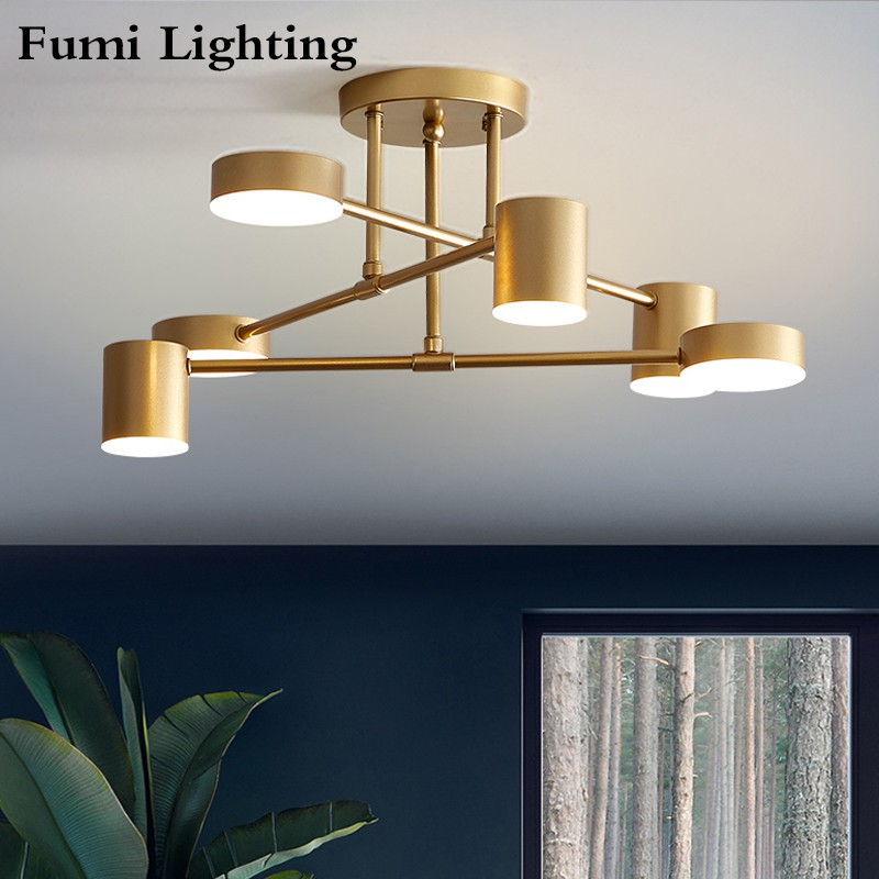 Fumi Flush Mount Ceiling Lights For Living Room Bedroom Ceiling Lights Fixture Shopee Malaysia