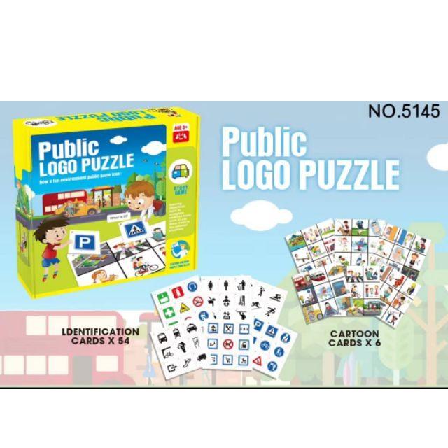 Public Logo puzzle jigsaw