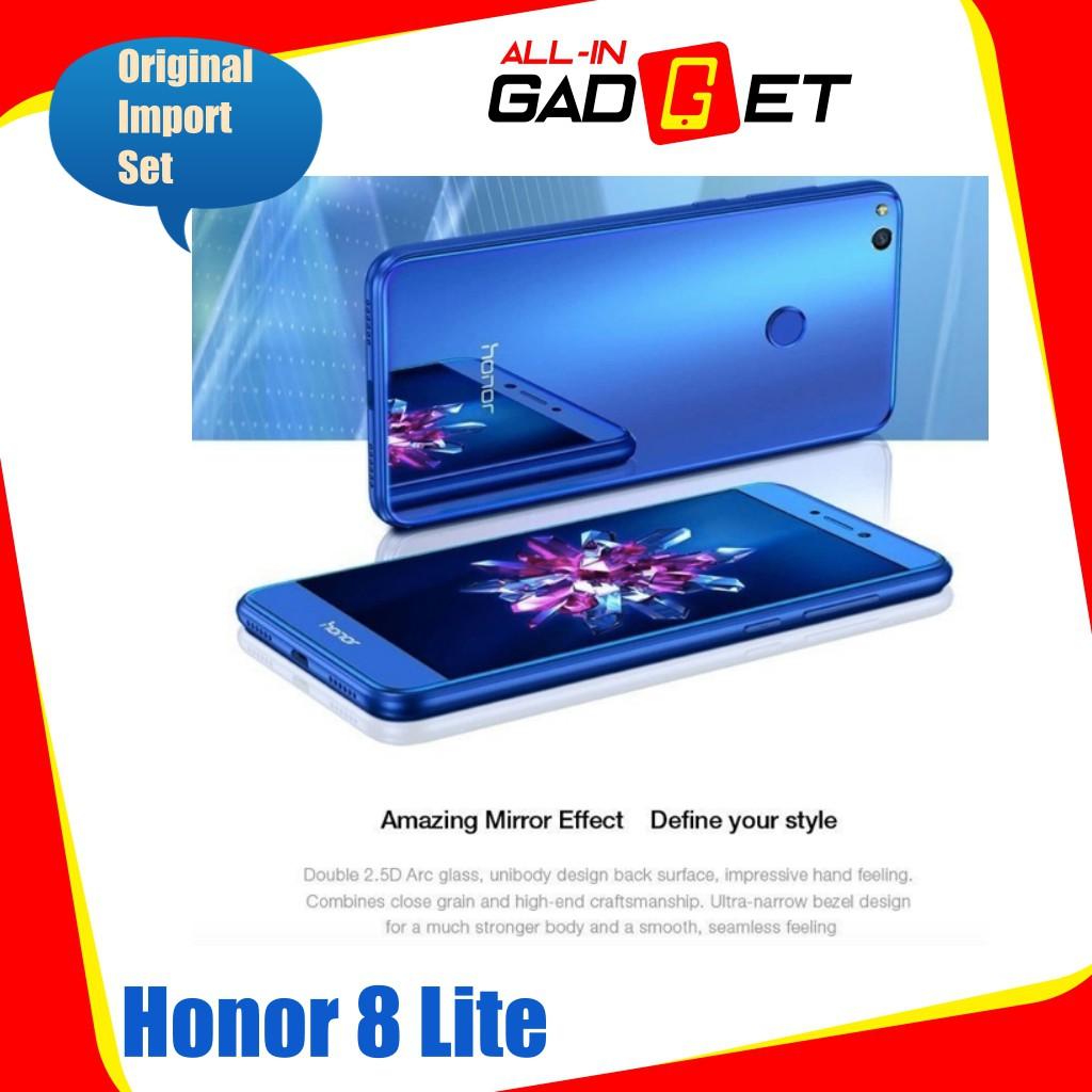 Huawei Honor 8 Lite [3G/16G] Original Import Set | Shopee Malaysia