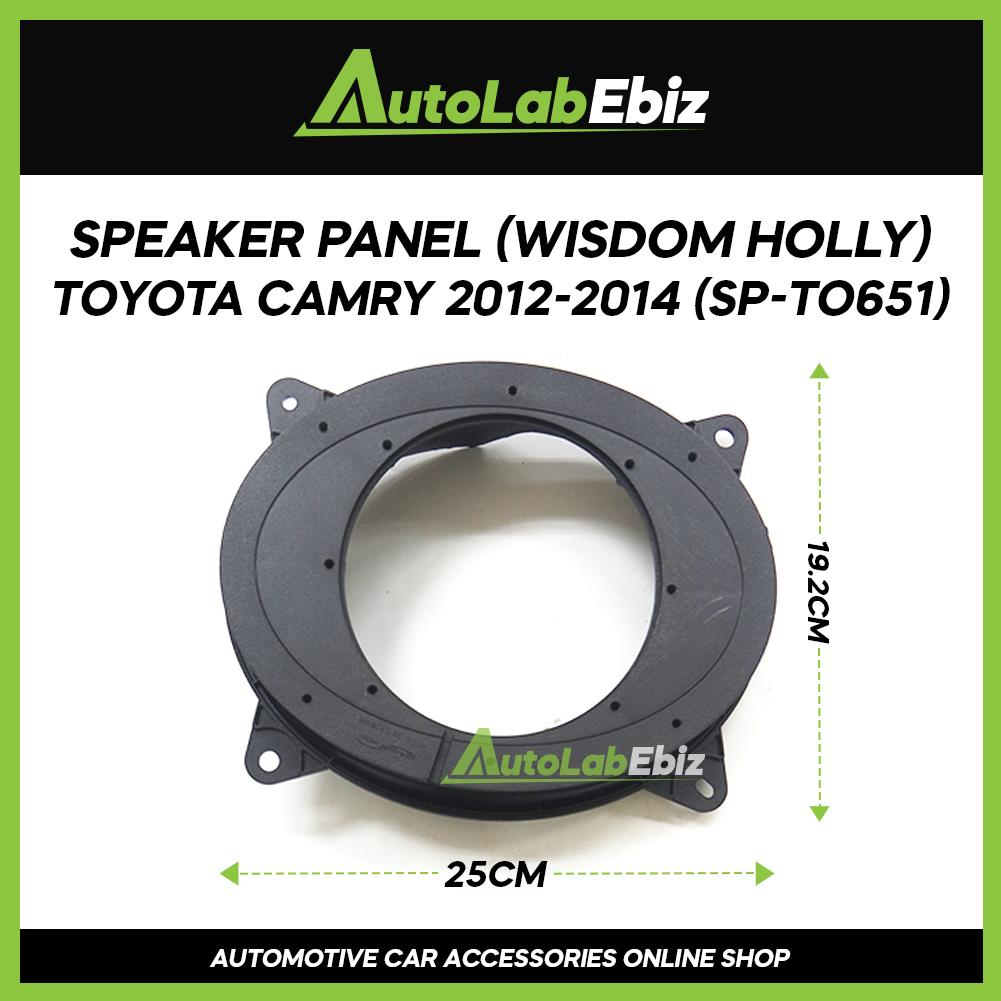 Wisdom Holy Car Door Speaker Panel Cover Trim Car (2pcs) For Toyota Camry 2012-2014
