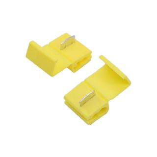 100PCS Yellow Scotch Lock Quick Splice 12-10 AWG Wire Connector 805P3