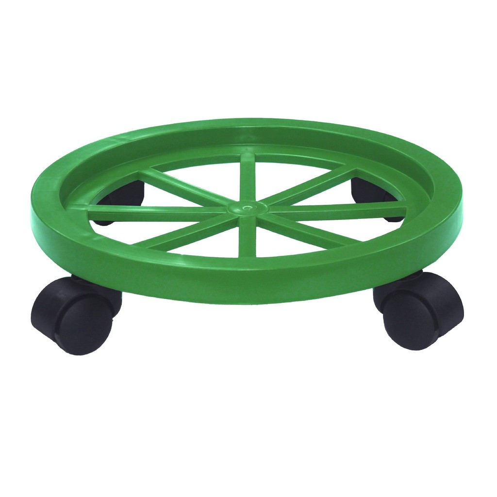 4 Wheel Gas Stand With Roller Colour / Roller Gas Cylinder Trolley