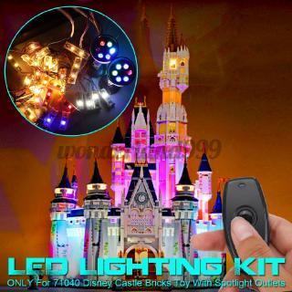 Brick Ordinary Edition LED Light Lighting Kit ONLY For Lego 71040 Disney Castle