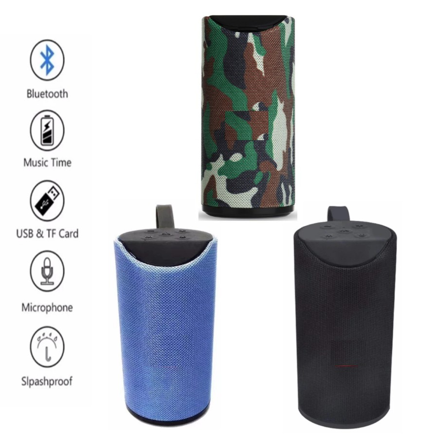 TG-113 Portable Wireless Bluetooth Mini Speaker Splashproof 3D Sound System