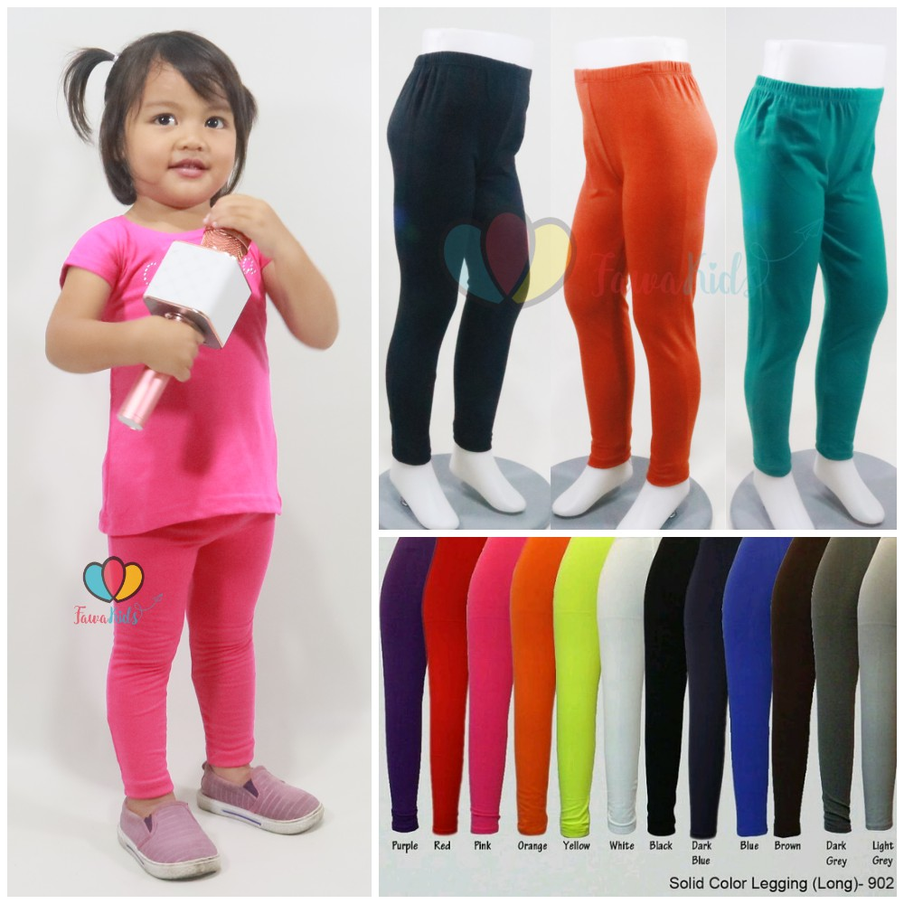 Children S Plain Leggings Uk 1th 12 Years Old Women S Long Pants Leging Girls Tights Shirt Shopee Malaysia