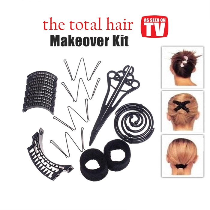 Hairagami The Total Hair Makeover Kit. Hairdressing kit