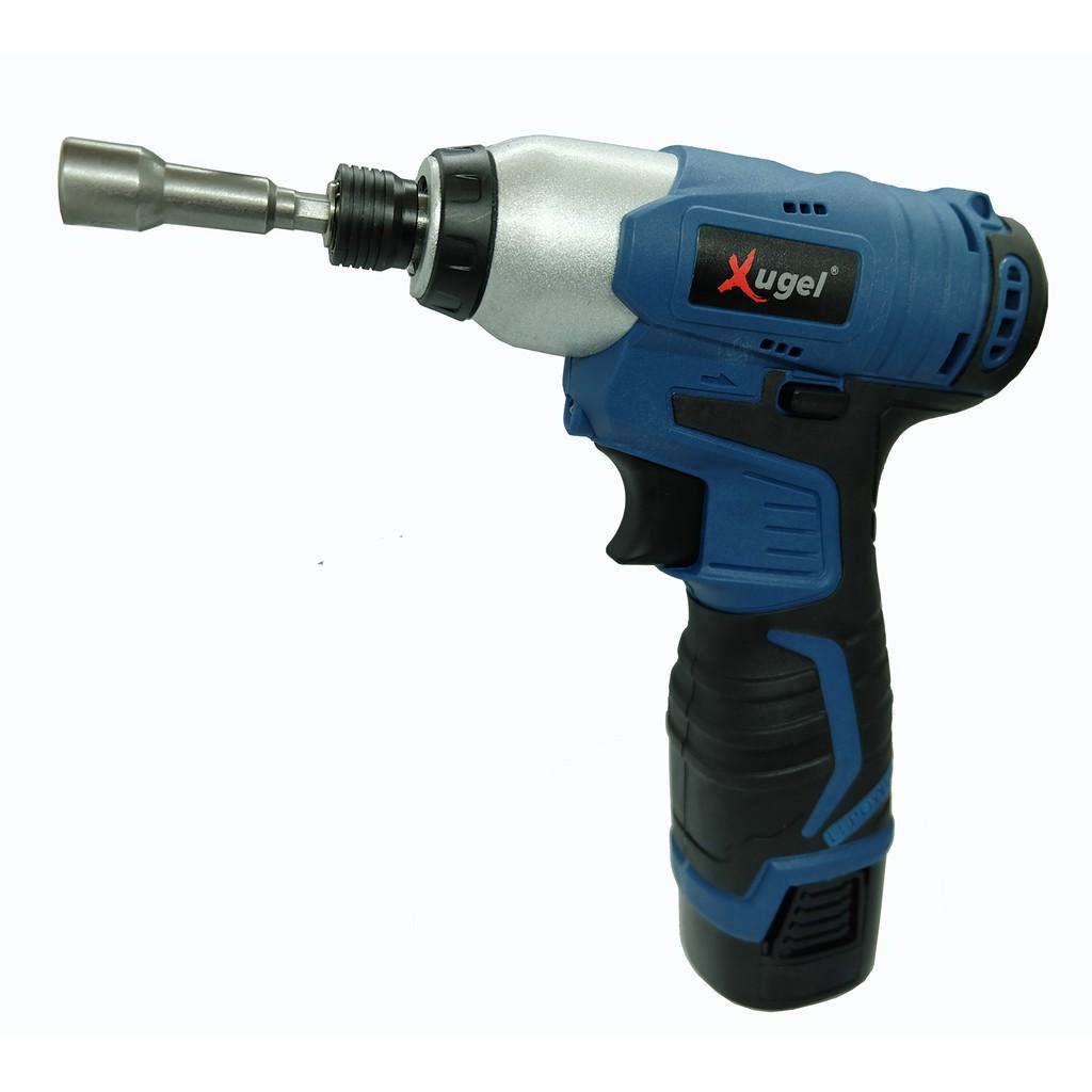16.8V Cordless Impact Driver Wrench Drill Model KE1683 Complete Set